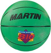 Martin Sports Assorted Colors Rubber Basketballs
