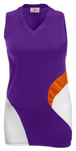 PURPLE/ORANGE/WHITE
