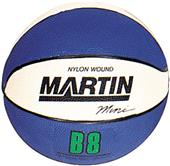 Martin Sports Rubber Mini-Ball Basketballs