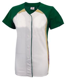 DARK GREEN/WHITE/GOLD (BACK OF JERSEY DARK GREEN)