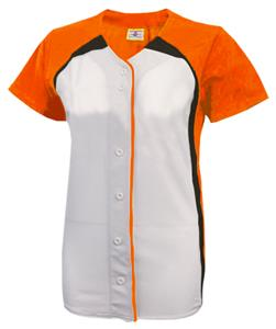 ORANGE/WHITE/BLACK (BACK OF JERSEY ORANGE)