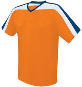 ORANGE/NAVY/WHITE
