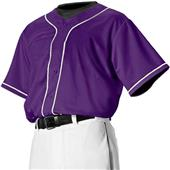Alleson PROFJBY Youth Faux Front Baseball Jerseys