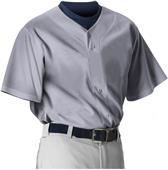 Alleson Youth Faux Front Baseball Jerseys - CO