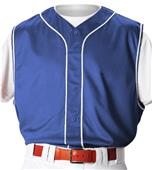Alleson PROFVB Adult Faux Front Baseball Vests CO