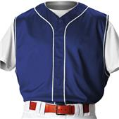 Alleson PROFVBY Youth Faux Front Baseball Vests CO