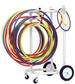 Champion Heavy Duty Plastic Hoop Storage Cart