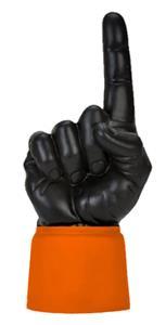 ORANGE JERSEY / BLACK HAND