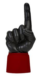 MAROON JERSEY / BLACK HAND
