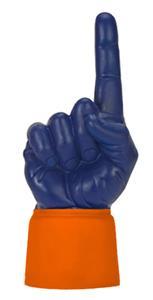 ORANGE JERSEY / NAVY HAND