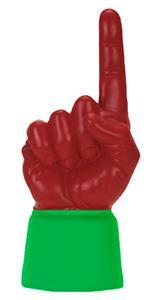 KELLY GREEN JERSEY / SCARLET HAND