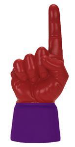 PURPLE JERSEY / SCARLET HAND
