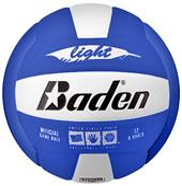 Baden 450 Light Microfiber Stealth Soft Volleyball
