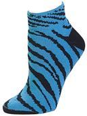Pizzazz Cheerleaders Zebra Stripe Anklet Socks