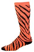 Pizzazz Cheerleaders Zebra Stripe Knee High Socks