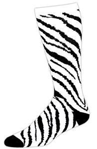 WHITE/BLACK ZEBRA