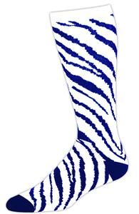 WHITE/ROYAL ZEBRA