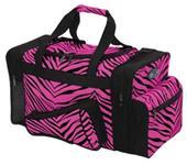 Pizzazz Zebra Print Travel Bags