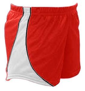 RED W/ WHITE