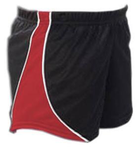 BLACK W/ RED