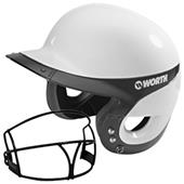Worth Liberty Home Batter's Helmets w/ Faceguard