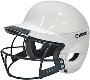 WHITE/WHITE W/FACEGUARD