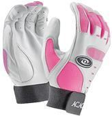 ACACIA Youth Pink Home Run Baseball Batting Gloves
