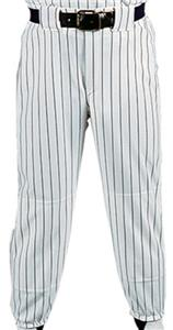 WHITE PANT/BLACK STRIPES