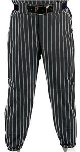 BLACK PANT/WHITE STRIPES