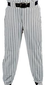 SILVER PANT/BLACK STRIPES