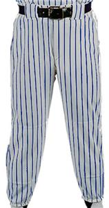 SILVER PANT/NAVY STRIPES
