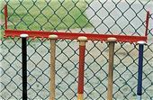 Baseball Softball Hanging Bat Fence Holder Rack