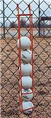 Baseball Softball Ball Holder - Hangs on Fence