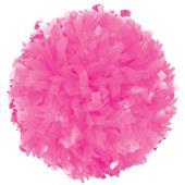 Getz Adult Cheerleaders Solid Neon Pink Poms
