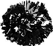 Getz Adult Cheerleaders Solid Metallic Poms