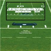 Fisher 6' Football Stencil Set Carry Bags