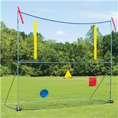Fisher Portable Football Goal Posts w/ Net