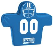 Fisher 2 Man Football Boomer Sleds w/ Low Boy Pads