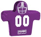 Fisher 5 Man Football Boomer Sleds w/ Low Boy Pads