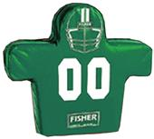 Fisher 6 Man Football Boomer Sleds w/ Low Boy Pads