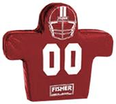 Fisher 7 Man Football Boomer Sleds w/ Low Boy Pads