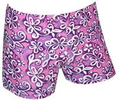 "Plangea Spandex 2.5"" Sports Shorts - Floral Print"