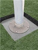 First Team Ground Sleeve For Football Goalpost