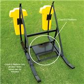 Fisher Football CL Blocking Sleds Coach's Platform