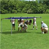 Fisher 10' x 10' Football Training Open Chutes