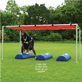 Fisher 5' x 10' Football Training Open Chutes