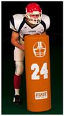 "Fisher SUD4214 Round 14"" Football Stand-Up Dummies"