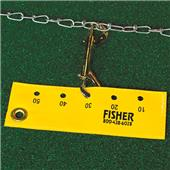 Fisher Football Chain Clip Markers