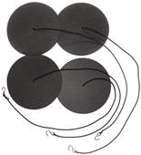 Tandem Volleyball Court Line Sand Anchor (4 Discs)