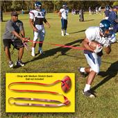 Fisher Tug-A-Ball Football Training Straps w/ Band